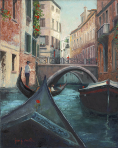"""""""Afternoon In Venice, 20X16 gilcee $350"""
