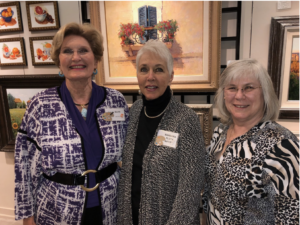 Jan Smith, Barbara Fluty, and Karen Seikel