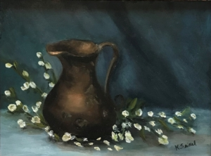 The Forgotten Pot Oil on Canvas 16x12 $850