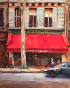L' Annex 20x16, oil on linen, $800.00